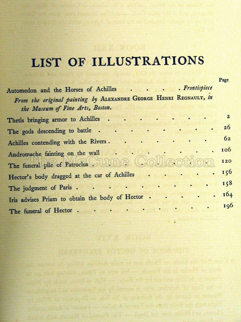 List Of All 78 Tarot Cards: The McCune Collection: The Iliad Of Homer